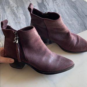 Aldo Purple Booties